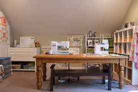Quilting Cutting Table by Checking In Fresh Lemons Modern Quilts