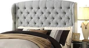 Tufted Upholstered Headboard Linen Headboard Elkar Club