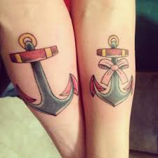 his and ideas cool tattoos designs his and