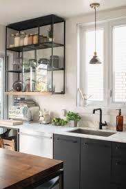 kitchen window backsplash smart kitchen storage idea by using tall corner steel open