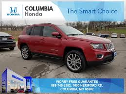 jeep compass limited red pre owned 2014 jeep compass limited 4d sport utility in columbia
