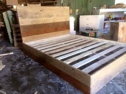 How To Make A Platform Bed Frame With Pallets by Pallet Bed 101 Pallets