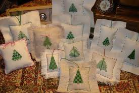 easy cross stitch ornaments needlework