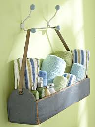 Bathroom Storage Ideas For Towels Tool Caddy To Towel Caddy Great For House Guests Clever