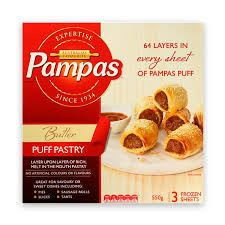puff sheets pas ready roll butter puff pastry 3 sheets 550g the marulan