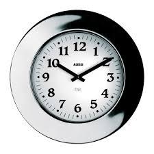 buy alessi momento wall clock 40cm dia amara