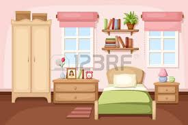 home interior vector wooden window home interior vector image