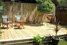 Patio Designers Gardens With Decking Small Decking Designs For Gardens Garden