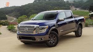 nissan truck titan 2017 nissan titan platinum reserve review youtube