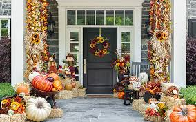 door decorations 15 fall front door decoration ideas garden club