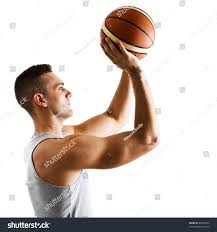 basketball player free throw pose stock photo 83992912 shutterstock