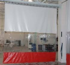 Drapery Shops Roll Up Curtains Industrial Curtain Walls