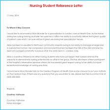 nursing reference recommendation letters 9 samples