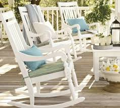 White Patio Rocking Chair by Abc About Exterior Furnitures Part 40