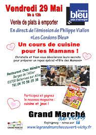 cours de cuisine vichy cours de cuisine pour les mamans grand marché de vichy