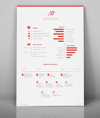 Good Resume Designs 41 Best Resume Images On Pinterest Leaflet Design Brochure