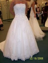 oleg cassini wedding dress oleg cassini used oleg cassini wedding gown size 6 bridal