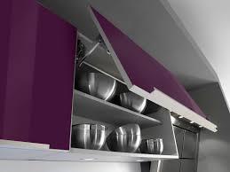 cuisine aubergine et gris cuisine aubergine et gris great cuisine blanche mur aubergine