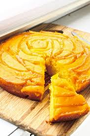 orange mango upside down cake feast on the cheap