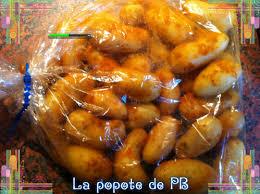 cuisiner pomme de terre grenaille pommes grenailles vapeur à la méditérannéenne popote de petit bohnium