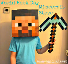 minecraft steve costume diy costumes how to make a easy and minecraft steve