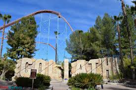 Goliath At Six Flags First Six Flags Magic Mountain Update Of 2018