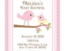 bird baby shower birds baby shower etsy