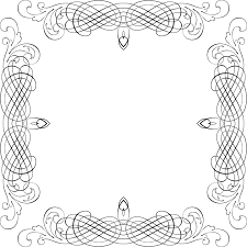 free vector graphic decorative ornamental frame free image on