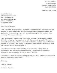 cover letters for internship cover letter for internship sample