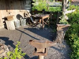 building a new blacksmith shop a look at the old and new shops