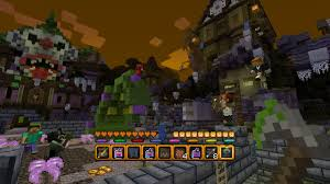 halloween texture minecraft halloween battle map on ps3 official playstation store