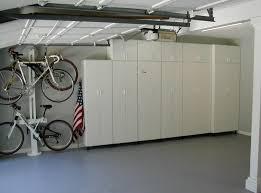 Garage Interior Color Schemes Storage U0026 Organization Amazing White Garage Storage Cabinet Ideas