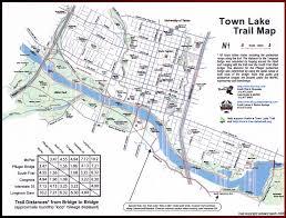 Lake Lanier Map Town Lake Hike And Bike Trail Map Best Lake 2017