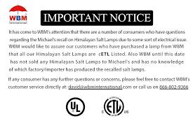 himalayan salt l recall amazon salt l recall wbm international do not recall salt ls