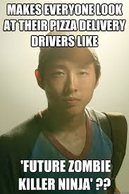 Pizza Delivery Meme - makes everyone look at their pizza delivery drivers like future