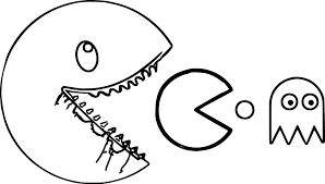 coloring page pac man coloring pages coloring page and coloring