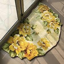 Flower Area Rugs by Amazon Com Memorecool Beautiful Flowers Area Rugs Modern Anti