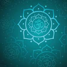 Lotus Flower With Om Symbol - om symbol clip art vector images u0026 illustrations istock