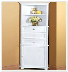 bathroom floor storage cabinets white s office christmas party