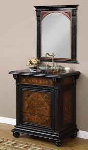 bathroom interesting design of antique black bathroom vanity