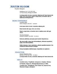 Work Experience Or Education First On Resume Chronological Resume Definition Format Layout 103 Examples