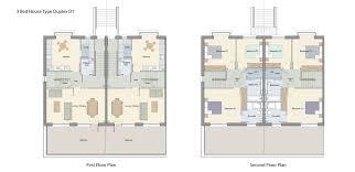3 Bedroom Duplex Floor Plans by Hawthorn Homes Bird Avenue Clonskeagh Dublin 14