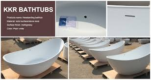 launching more than 80 new modern bathtub designs solid surface