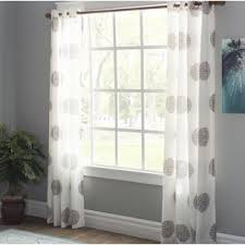 Teal And White Curtains Teal Curtains Drapes Wayfair