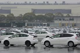 toyota car lot auto sales keep climbing audi is going electric and more ny
