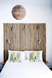 Awesome Home Decor Ideas 15 Awesome Bamboo Home Decor Ideas Bamboo Headboard Bamboo