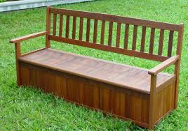 deck bench storage home design ideas and pictures