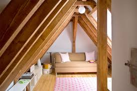 attic storage convention other metro scandinavian family room