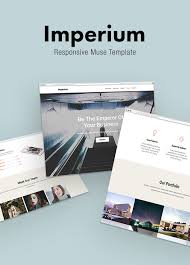 imperium responsive muse template for creative u0026 agency by stylewish