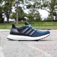 adidas big kids ultra boost black crab blue